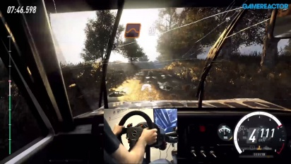 Dirt Rally 2.0 - Gravel Gameplay with Wheel & Pedals