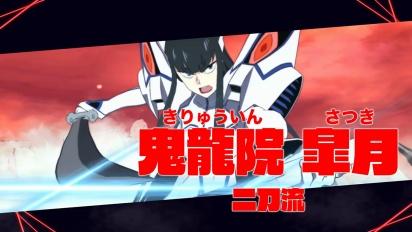 Kill la Kill the Game: IF - Satsuki Kiryuuin Character Trailer