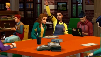 The Sims 4: Discover University - Reveal Trailer