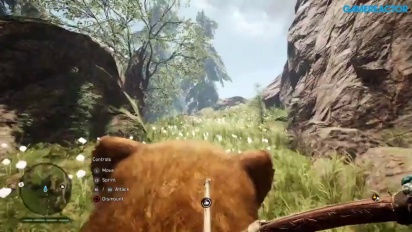 Far Cry Primal: Gameplay vid - Riding the Saber Tooth