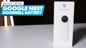 Google Nest Doorbell Battery - Quick Look