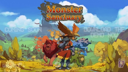 Monster Sanctuary - Partnership Trailer