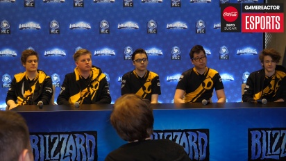 IEM Katowice 2018 Western Clash - Team Dignitas Press Conference Before Final