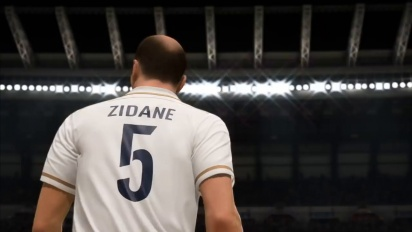 FIFA 20 - Zinedine Zidane FUT Icons Stories Reveal