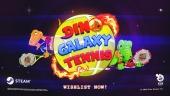 Dino Galaxy Tennis - Steam Reveal Trailer