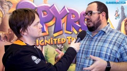 Spyro Reignited Trilogy - Lou Studdert Interview