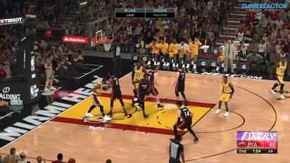 NBA 2K21 - LA Lakers VS Miami Heat