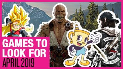 Games om naar uit te kijken - April 2019
