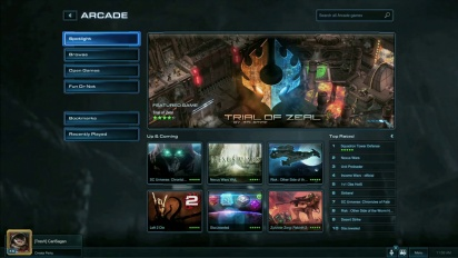 Starcraft II: Heart of the Swarm - Patch 2.1 Overview Trailer
