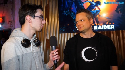 Shadow of the Tomb Raider - Arne Oehme & Vincent Monnier Interview