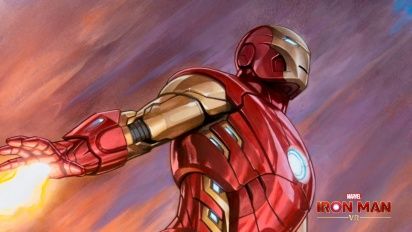 Iron Man VR – Impulse Armor Timelapse