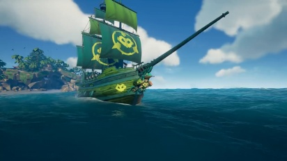 Fightin' Frogs Ship Set Reveal Trailer - Official Sea of Thieves