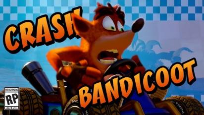 Crash Team Racing: Nitro-Fueled - Crash Bandicoot