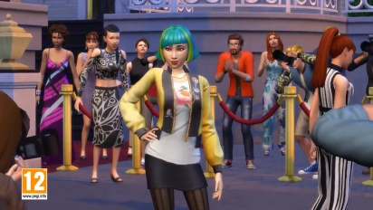 De Sims 4: Word Beroemd Trailer