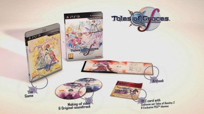 Tales of Graces F - Day One Edition Exposed Trailer