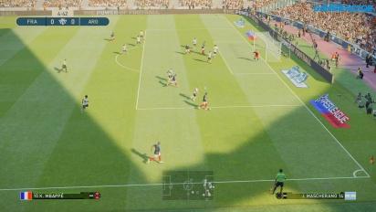Pro Evolution Soccer 2019 - Full Match France vs Argentina Gameplay