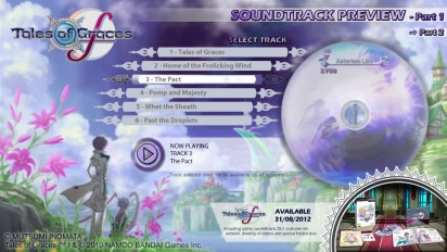 Tales of Graces F - Soundtrack Preview Trailer