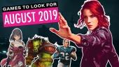 Games om naar uit te kijken - Augustus 2019