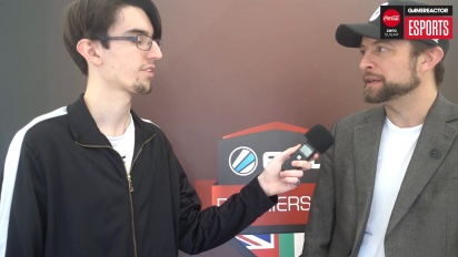 ESL UK Premiership Finals - Chris Place Interview