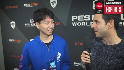 PES League Berlin - Champion Naoki 'Sofia' Sugimura Interview