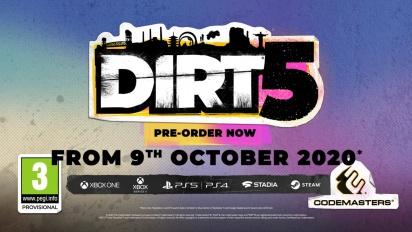 DIRT 5 - Career Mode Trailer