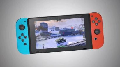 World of Tanks Blitz - Nintendo Switch Launch Trailer