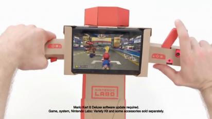 Mario Kart 8 Deluxe - Nintendo Labo Trailer