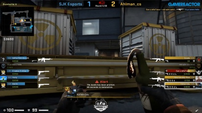 OMEN by HP Liga - Div 1 Round 5 - Ahlman_cs vs SJK Esports - Train.