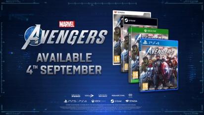 Marvel's Avengers: Time to Assemble CG Spot (PEGI)
