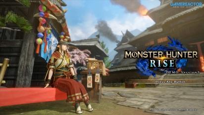 Monster Hunter Rise - Magnamalo Gameplay
