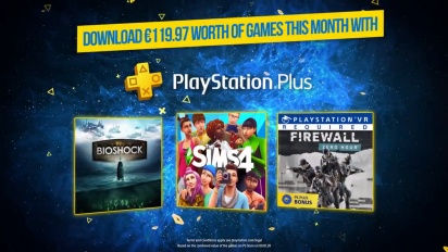 PS Plus February - Bioshock: The Collection + The Sims 4 + Firewall Zero Hour