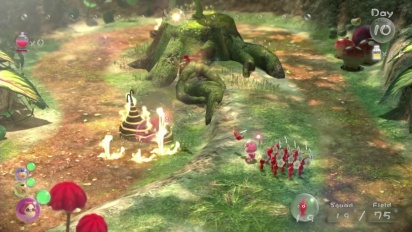 Pikmin 3 - Get to Know Gameplay Basics Trailer