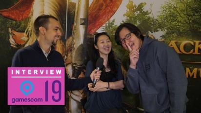 Black Desert Online - Kwangsam Kim and Jeonghee Jin Interview