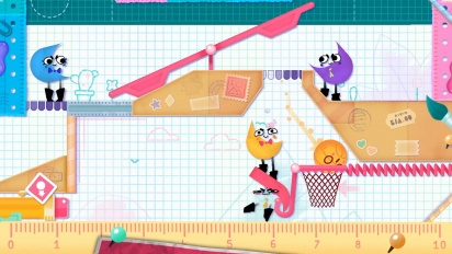 Snipperclips: Cut it Out, Together! - Overview Trailer - Extended Cut!