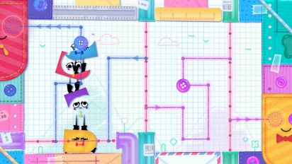 Snipperclips Plus: Cut It Out Together! - Nintendo Switch