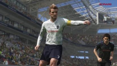 PES 2018 - David Beckham Legend Trailer
