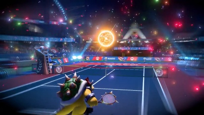 Mario Tennis Aces - Trailer Pre-launch Onlinetoernooi