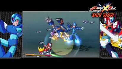 Project X Zone  - Mega Attacks Trailer