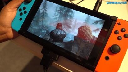 The Elder Scrolls V: Skyrim - Switch Gameplay