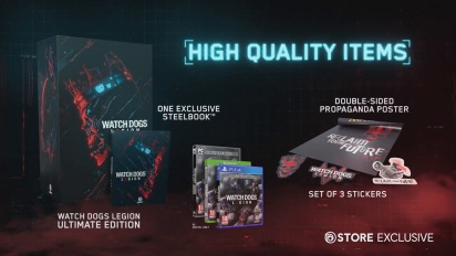 Watch Dogs Legion - Collector's Edition Reveal