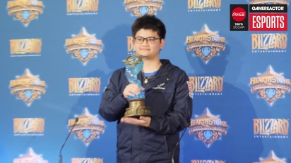 Hearthstone World Championship 2018 - World champion tom60229 Press Conference