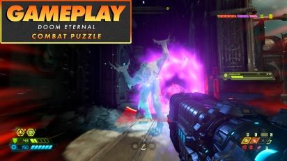 Doom Eternal - The Combat Puzzle Gameplay