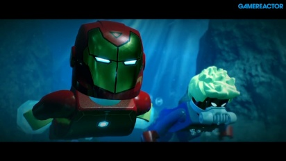 LEGO Marvel  Super Heroes 2 - Gameplay del primer nivel en español