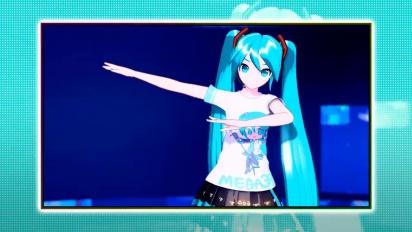 Hatsune Miku: Project Diva Mega Mix - Gameplay Trailer