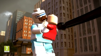 Lego The Incredibles - Hub World (Crime Waves) Trailer