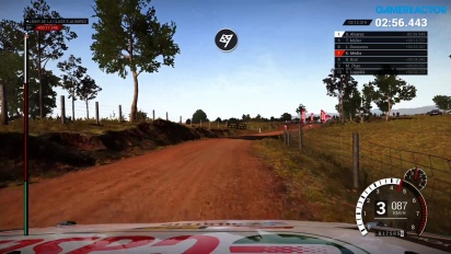 Dirt 4 - Simulation Mode Australia Rally Gameplay