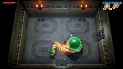 The Legend of Zelda: Link's Awakening - Colour Dungeon Gameplay