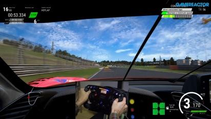 Assetto Corsa Competizione - Ferrari 488 GT3 Racing Wheel & Pedals Gameplay