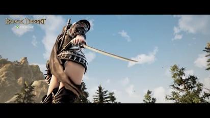 Black Desert - Kunoichi Update Trailer