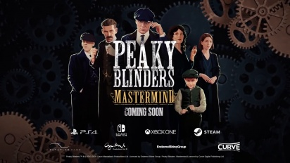Peaky Blinders: Mastermind - Official Reveal Trailer